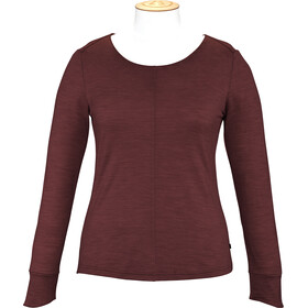 Alchemy Equipment Merino Essential Longsleeve Shirt Women red